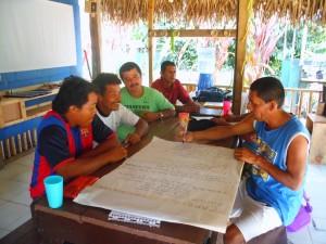 Alguns membros da ACOTPRO em um de nossos workshops