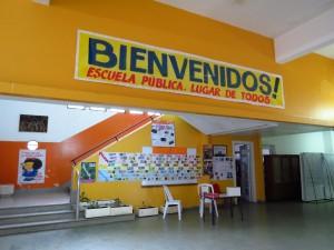 Escola Pública na cidade de Montevidéu